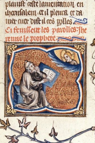 Jeremiah writing