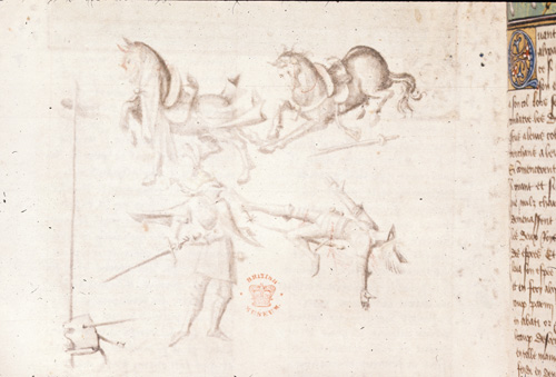 Warriors and horses