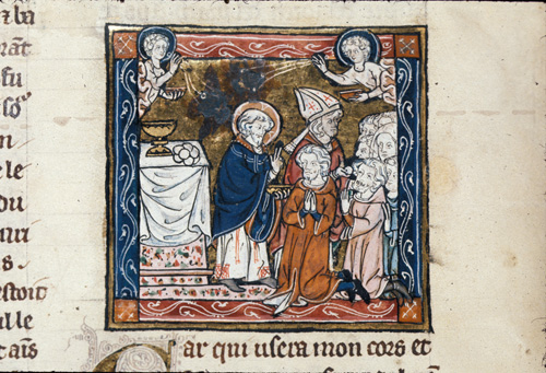 Joseph of Arimathea consecrated by God