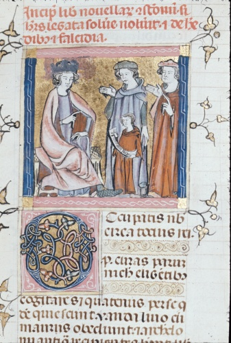 Justinian, lawyers, and a child