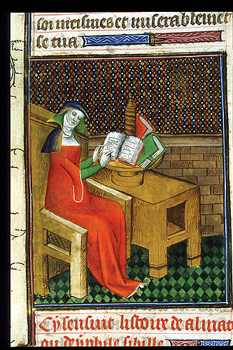 Almathea reading