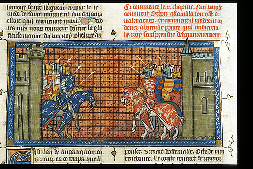 Battle of Philip Augustus and John of England