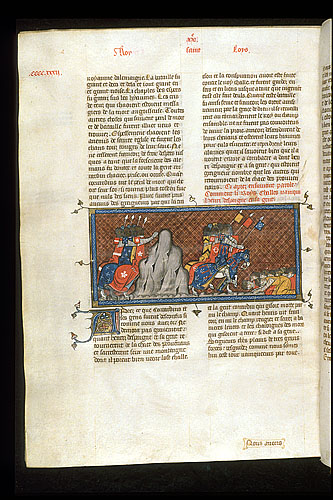 Charles of Anjou defeating Henry of Spain