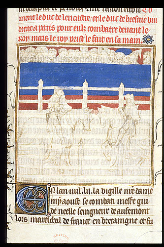 Meeting of Henry of Lancaster and Otto of Brunswick