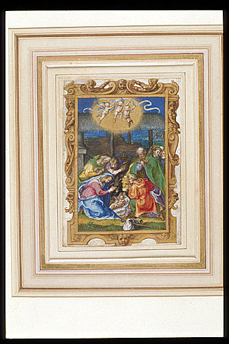 Adoration of the Shepherds and Annunciation to the Shepherds