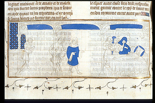 Duke of Brittany's deathbed