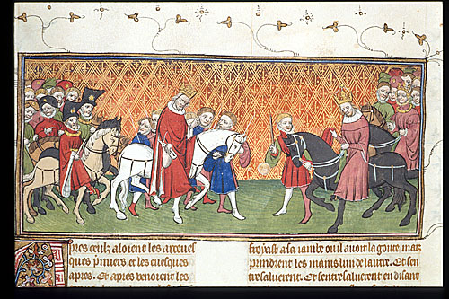 Procession of the Emperor and king