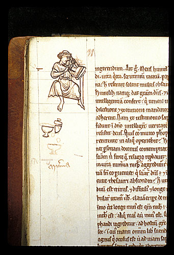 Scribe at work