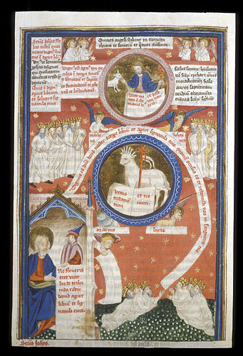 The Lamb receiving the Book