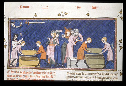 Funeral of Roland