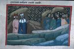 Dante and Virgil meet the souls who repented too late