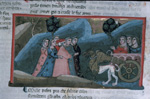 Dante is led to Beatrice