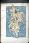 Miniature of a map: 'Crete hodie candia'.