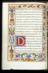 Initial and border