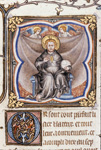 God seated