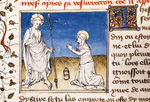 Christ appearing to Magdalene