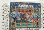 Joust between Ponthus and the Duke of Burgundy