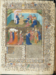 Solomon dictating the Proverbs