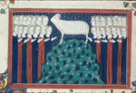 The Lamb and worshippers