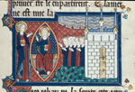 Christ enthroned and the New Jerusalem