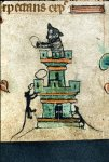 Cat in a tower