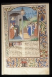 Boccaccio with kings and queens
