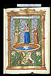 Miniature of three woman.