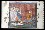 Execution of Brunhilda
