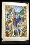 The Flight into Egypt with miracles