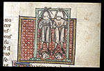 The hanging of the murderers of Darius