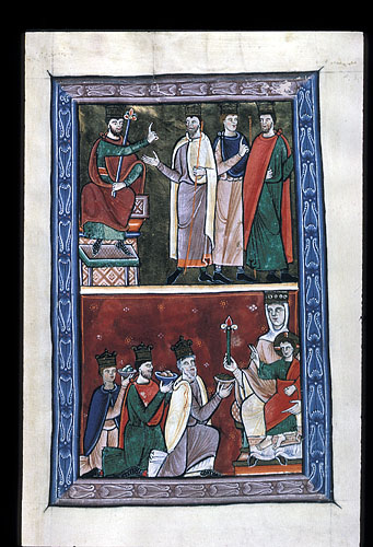 image of an item from the british library catalogue of illuminated