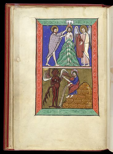 Baptism of Christ and First Temptation of Christ