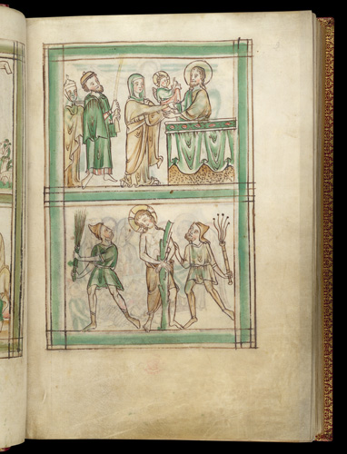 Presentation in the Temple and Flagellation
