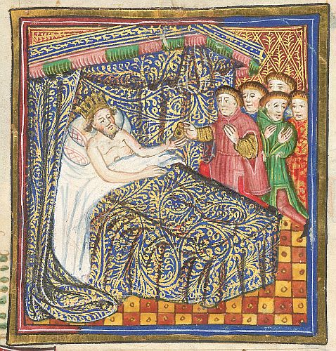 Death of King Offa