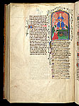 Miniature of the Trinity with donor