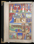 Scenes from the lives of Christ and the Virgin