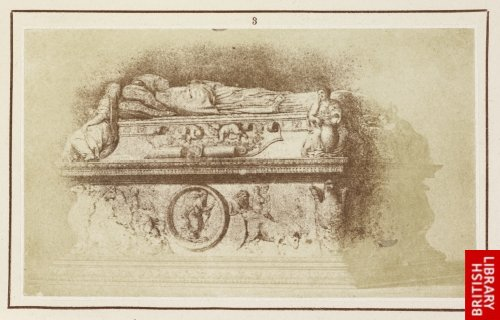 Alonso Berruguete:  Marble tomb of Cardinal Juan de Tavera, Archbishop of Toledo, in the Hospital of St. John Baptist, at Toledo.