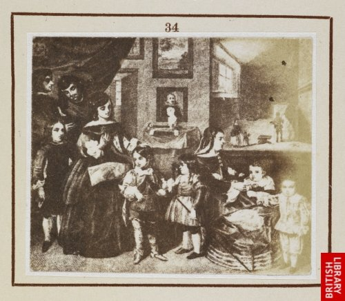 Diego Velasquez:  The family of Velasquez.  (From engraving by Kovatsch.)