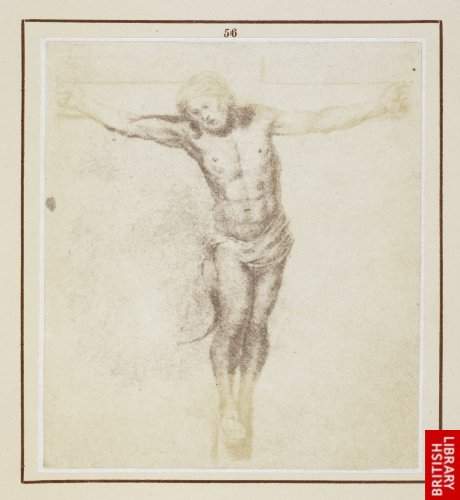 Murillo:  The Saviour on the Cross. (From an original drawing by Murillo.)