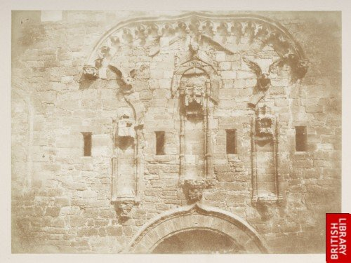 Linlithgow Palace Wall.