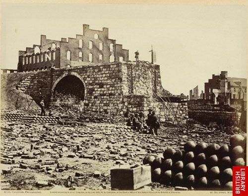 Ruins of Arsenal, Richmond, Va.  (April, 1865.)