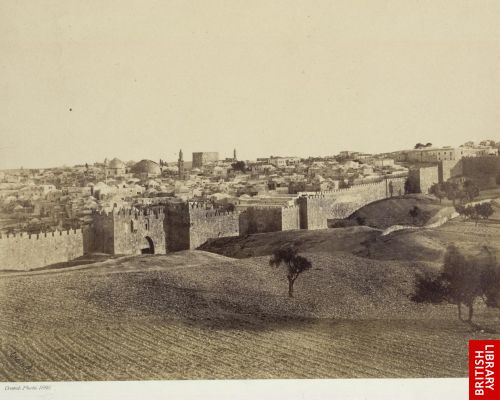 Jerusalem from the north west.