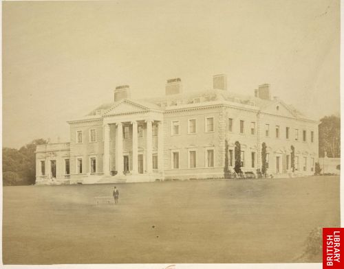 'Broadlands, the country seat of the Right Hon. Viscount Palmerston, M.P.