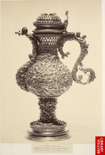 Ewer. (Portuguese, 16th century.)