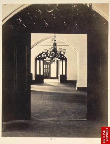 [Interior view of rooms on second storey]