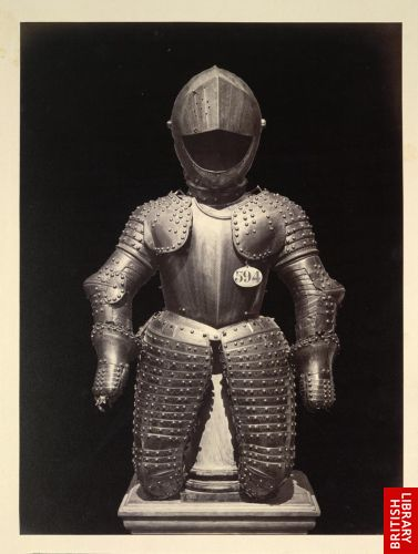[Cavalry armour, upper body, 17th century (no. 594)]