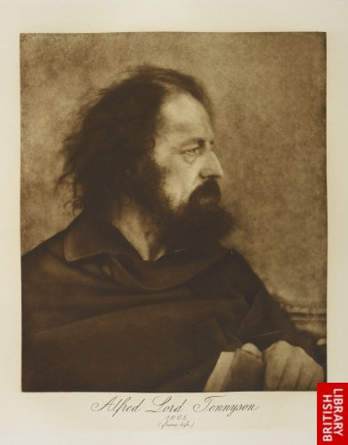 Alfred, Lord Tennyson, 1865. (Dirty Monk)