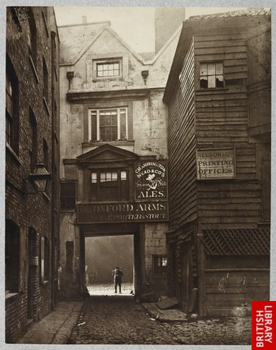 The Oxford Arms, Warwick Lane. 1875.