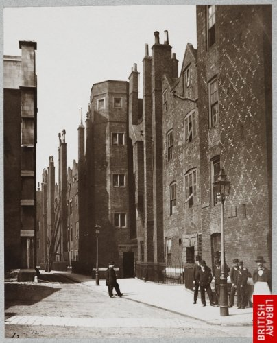 Lincoln's Inn - Old Square. 1876.