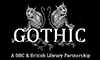 BBC Four and the British Library Gothic partnership logo
